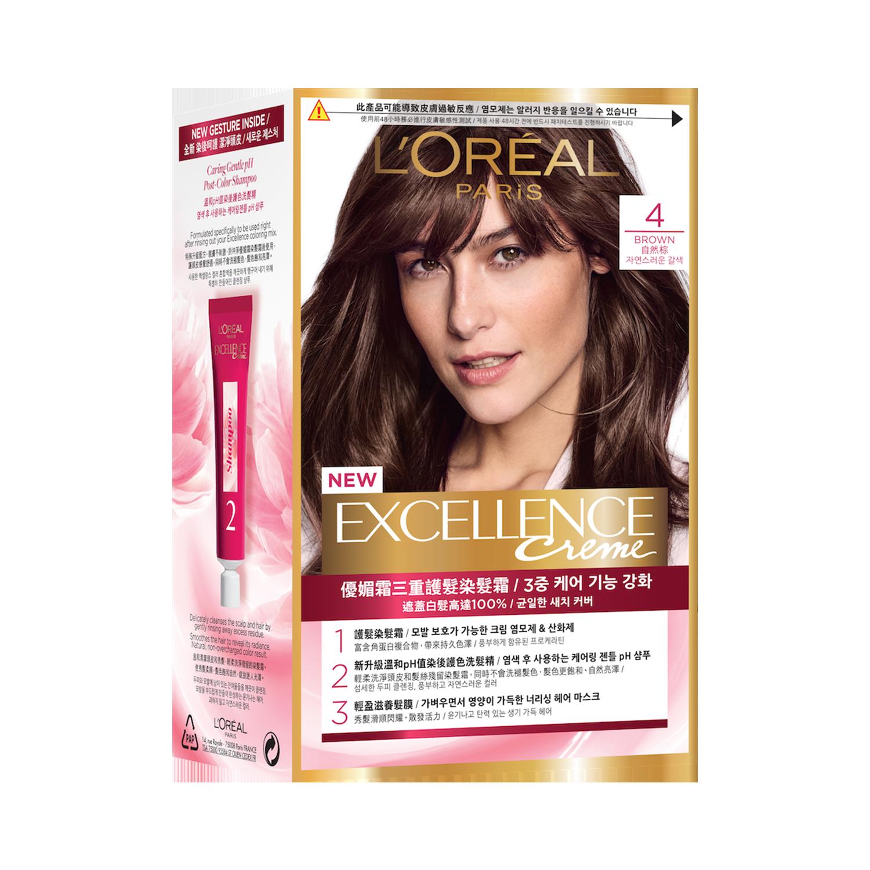 L`Oréal Paris巴黎萊雅優媚霜三重護髮染髮霜